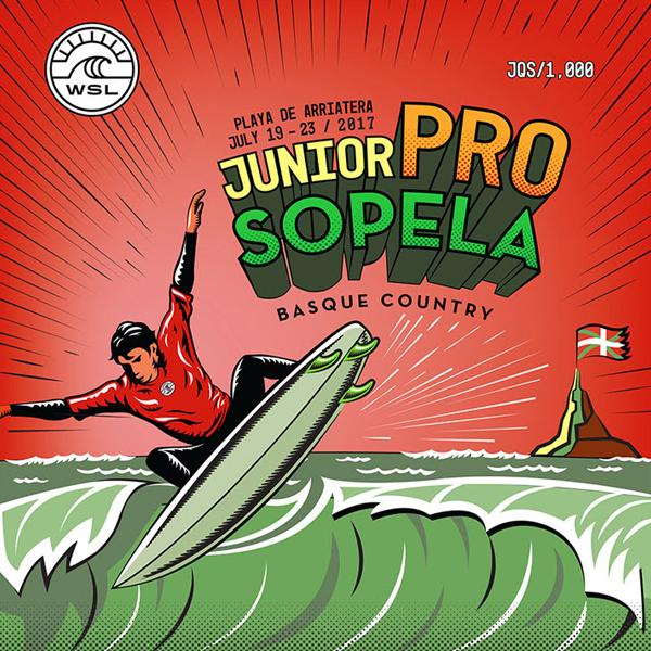 Título Europeo en el Junior Pro Sopela