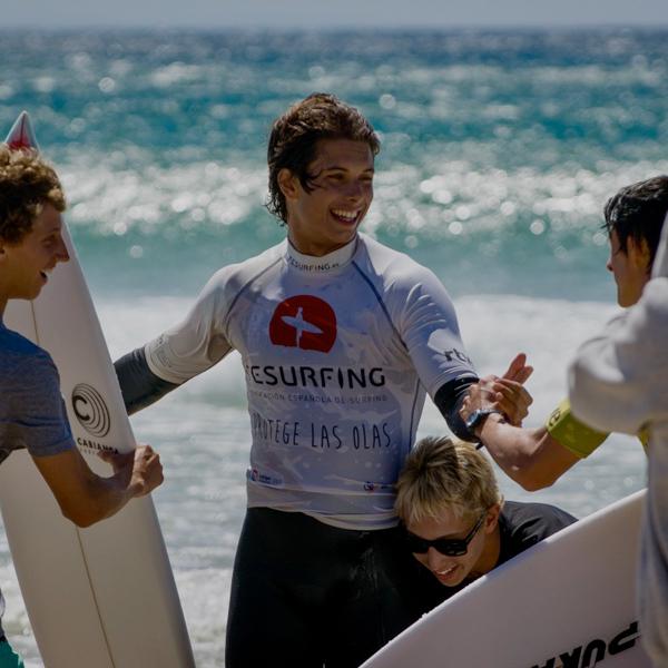 Los Campeones de España de Surf 2017