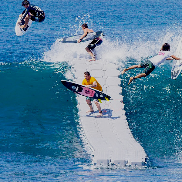 """The Dock"" La loca idea de Volcom…"