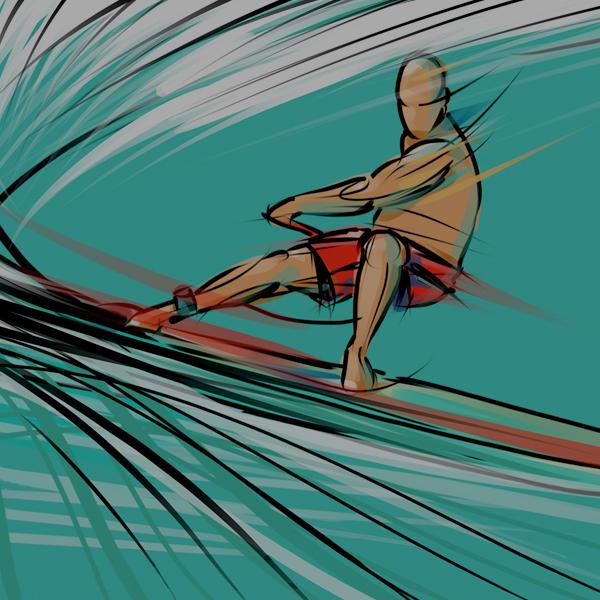 Andoni Galdeano, surf y arte en estado puro…