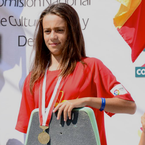 Telma Cester, campeona del mundo junior de wakeskate