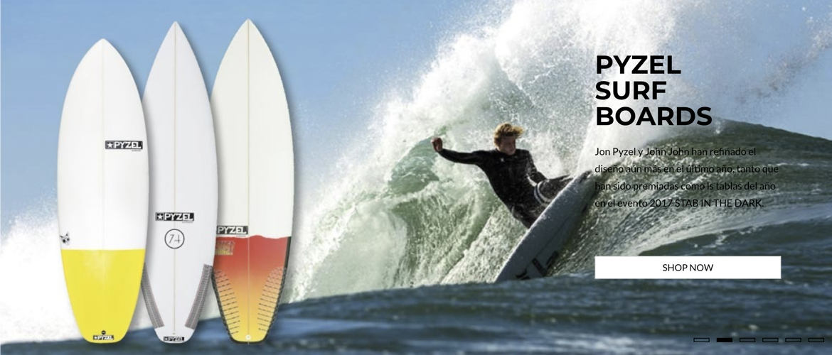 Pyzel Surfboards en Wet-Store.com