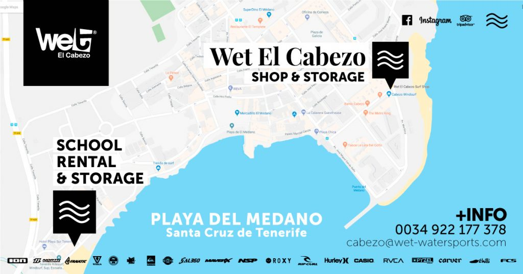 Guarda Tablas - BOARD LOCKER - Wet El Cabezo, Médano -WINDSURF-SHOP-TENERIFE3